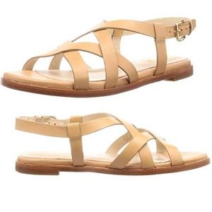 Cole Haan Women's Strappy  Leather Sandal